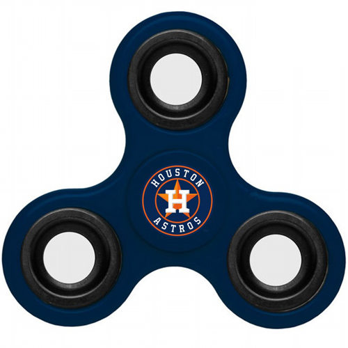 MLB Houston Astros 3 Way Fidget Spinner B60 - Navy