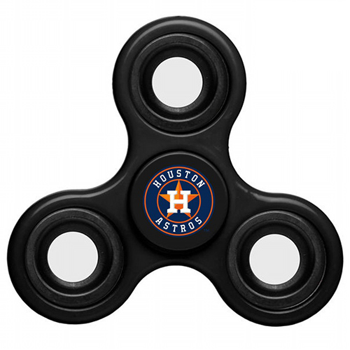 MLB Houston Astros 3 Way Fidget Spinner C60 - Black