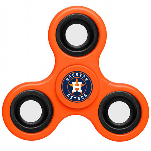 MLB Houston Astros 3 Way Fidget Spinner E60 - Orange