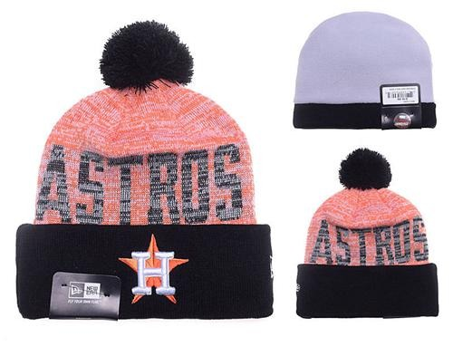 MLB Houston Astros Stitched Knit Beanies 026