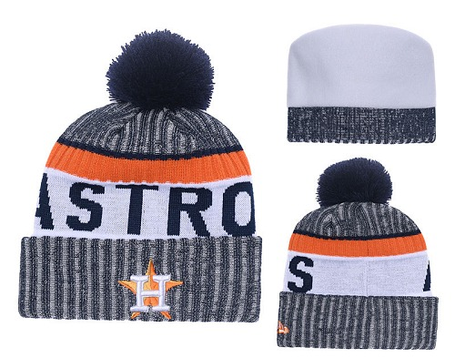 MLB Houston Astros Stitched Knit Beanies 028