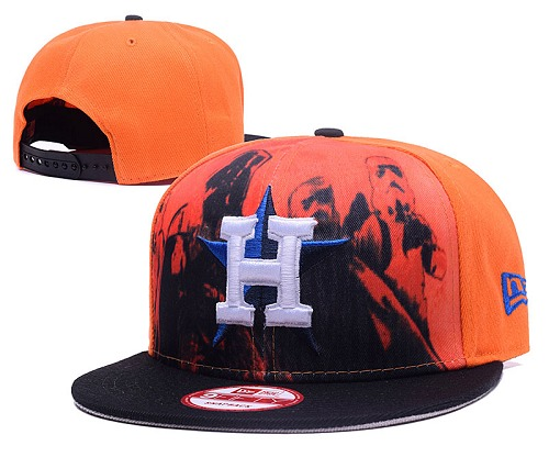 MLB Houston Astros Stitched Snapback Hats 005