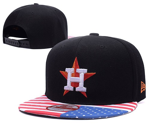 MLB Houston Astros Stitched Snapback Hats 010