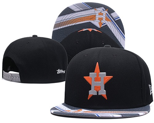 MLB Houston Astros Stitched Snapback Hats 015