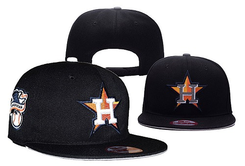 MLB Houston Astros Stitched Snapback Hats 019