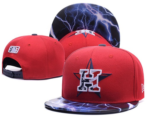 MLB Houston Astros Stitched Snapback Hats 021