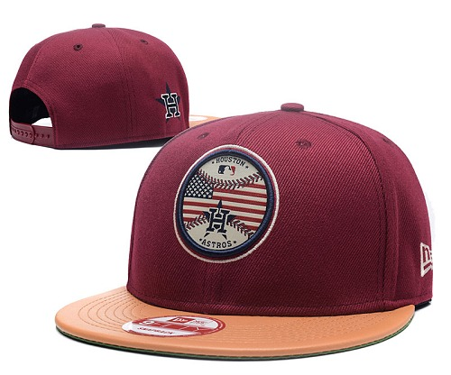 MLB Houston Astros Stitched Snapback Hats 022