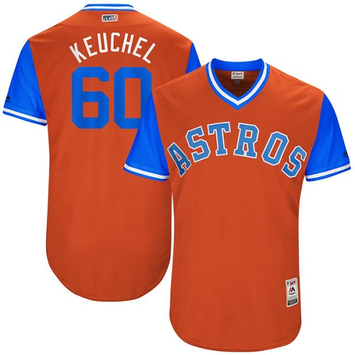 Men's Majestic Houston Astros #60 Dallas Keuchel