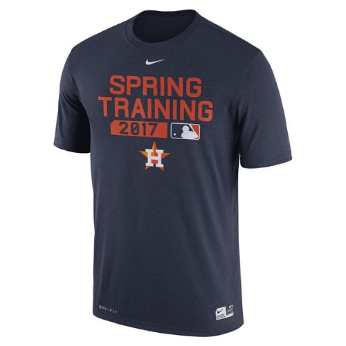 MLB Men's Houston Astros Nike Navy Authentic Collection Legend Team Issue Performance T-Shirt