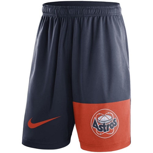 MLB Men's Houston Astros Nike Navy Cooperstown Collection Dry Fly Shorts