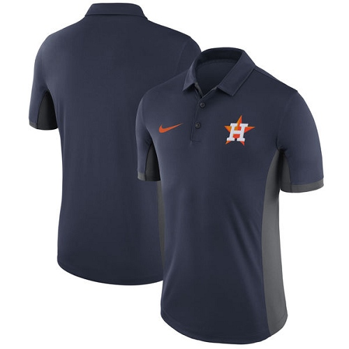 MLB Men's Houston Astros Nike Navy Franchise Polo T-Shirt