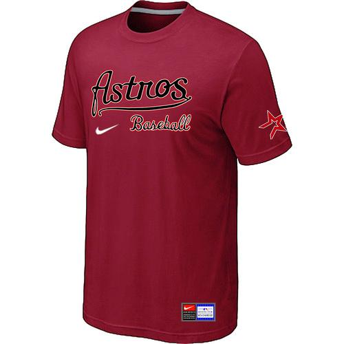 MLB Men's Houston Astros Nike Practice T-Shirt - Red